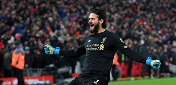Photo of Ex-Inter, Alisson é campeão da Premier League pelo Liverpool